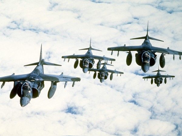 Marine Harriers, Desert-Shield