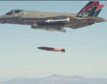 F-35A First Weapons Release