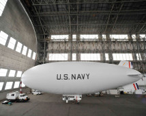 A modified American Blimp Corporation A-170 series commercial blimp, the MZ-3A boasts a proud heritage and now serves as the only manned airship in the United States Navy's inventory. U.S. Navy photo